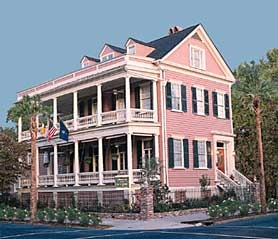 Ashley Inn Bed and Breakfast, Charleston, South Carolina USA Great location, walk to town.  #innforsale