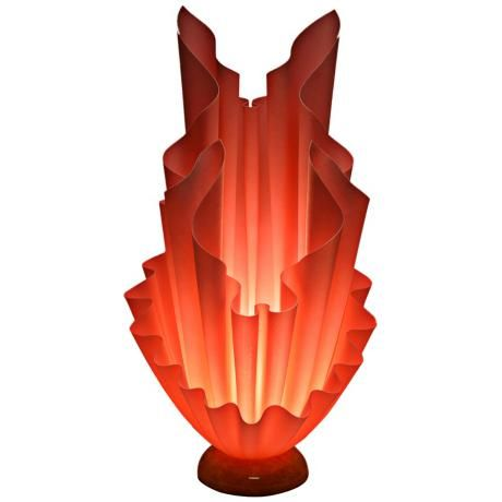 Aguilares Hand-Crafted Pink Table Lamp