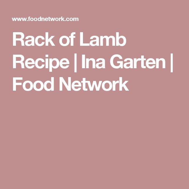 Rack of Lamb Recipe | Ina Garten | Food Network