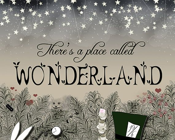 Step inside the mystery or Wonderland    Original design by Jenna Graviss    Professionally printed on high quality cardstock and with high pigment