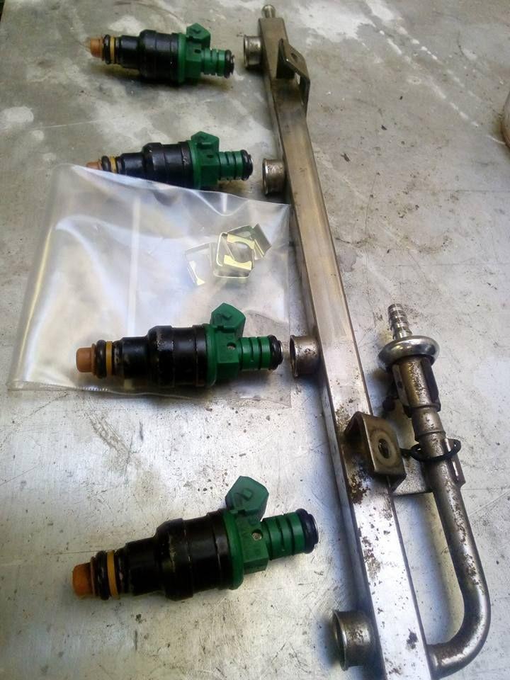 Cosworth Yb Fuel Rail Fuel Rail Fuel Injectors Bosch 803 Ford Sierra Ford Sierra Ford Bosch