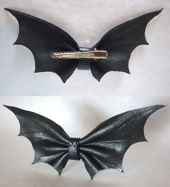 Halloween arco del pelo de murciélago murciélago de cuero