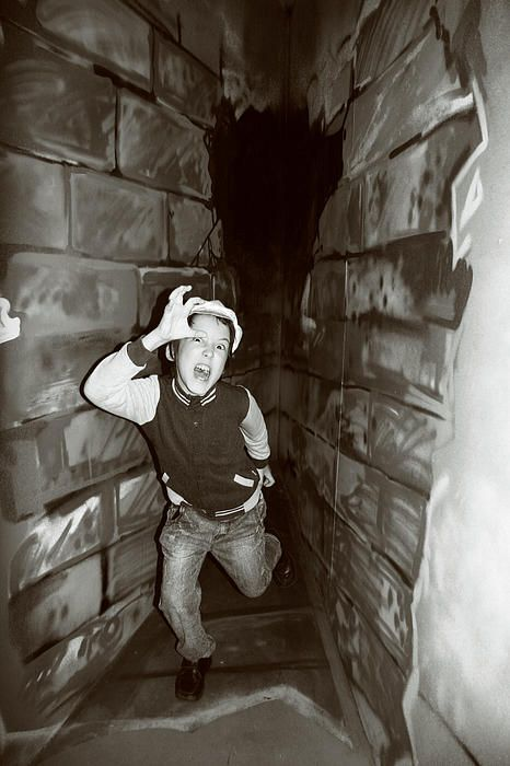 Runaway boy in the dungeon