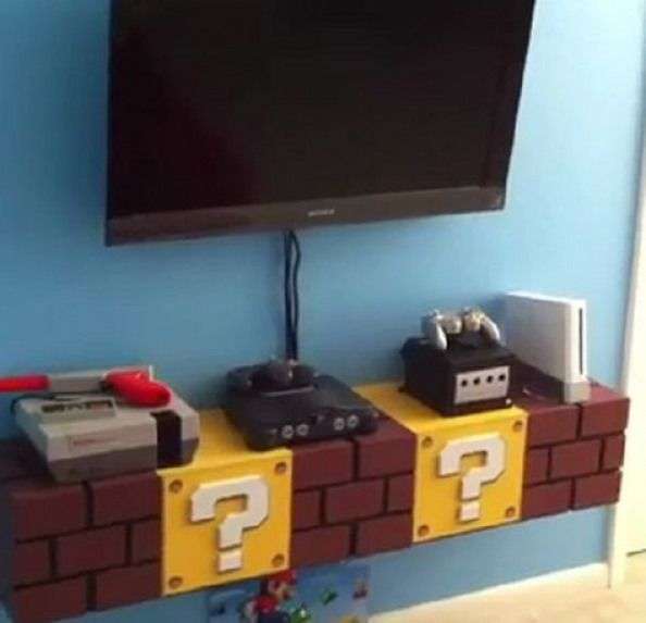 Super Mario Bros. #gaming #gaming #zimmer #ideen