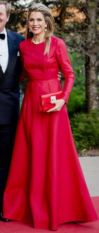 la robe rouge du Canada
