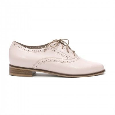 ALISA rose oxford shoes