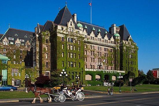 The Fairmont Empress Victoria (Vancouver Island) Hotel