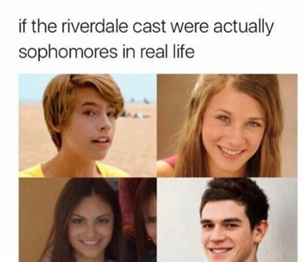 I think the show would have a much more heartbreaking aspect if they cast actual teenagers