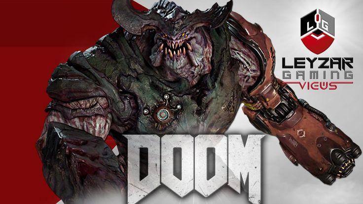 Doom (Gameplay) - Cyberdemon Boss Fight (Ultra Settings)