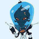 Aero - the Aquatic Alien by Adam Nichols
