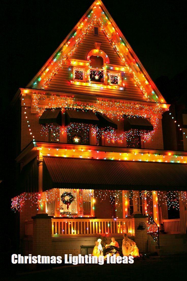 Christmas Lighting Creative Ideas Christmas House Lights Christmas Lights Christmas House