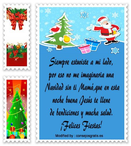 frases para enviar en Navidad a amigos,frases de Navidad para mi novio:  http://www.consejosgratis.es/bonitos-mensajes-de-navidad-para-mama/
