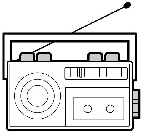 Pin Oleh Katerin Dennis Di Preescolar Di 2020 Radio Bumper Stickers Kartun