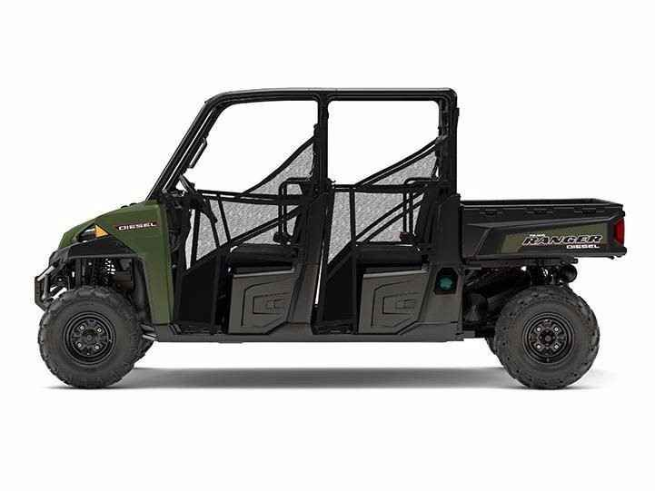 New 2017 Polaris RANGER CREW DIESEL ATVs For Sale in New Jersey. 3-cylinder, 1,028 cc, Tier 4 compliant Kohler diesel engineDesigned to accept revolutionary Pro Fit cab system110A alternator output