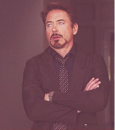 Face You Make Robert Downey Jr Blank Meme Template