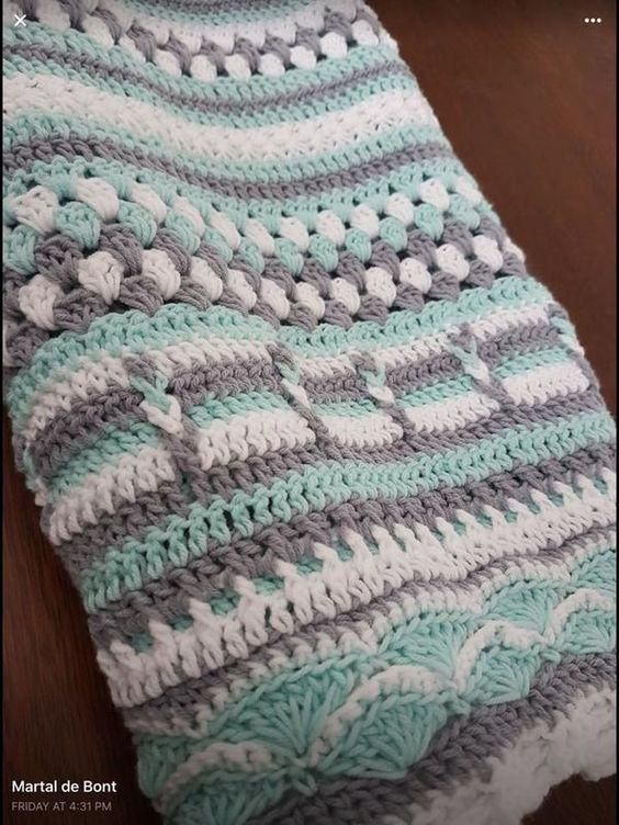 looking for this crochet afghan pattern #AfghanCrochetPatterns