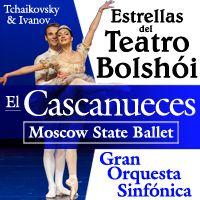 #Agenda   El Cascanueces. Más de 40 bailarines en escena. Una suntuosa producción del Moscow State Ballet y la Orquestra Sinfónica Estatal Rusa. Palacio de la Ópera a las 20.30 h.