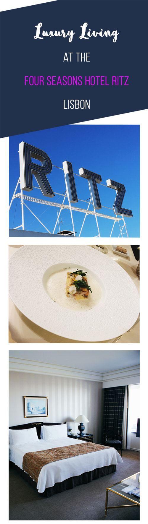 Four Seasons Ritz Lisbon - Stay in Luxury at Lisbon's Best 5 Star Hotel.