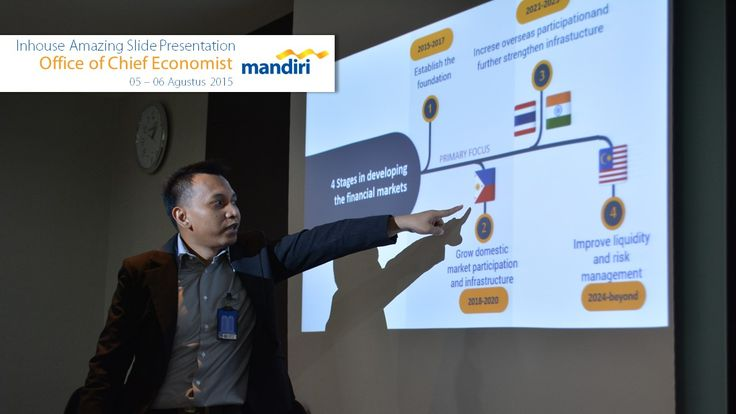 Inhouse Amazing Slide Infografis Bank Mandiri 5-6 Agustus 2015