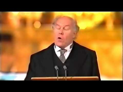 ▶ William Wordsworth - 'Ode: Intimations of Immortality'; Timothy West reads the ninth stanza, 2005 - YouTube