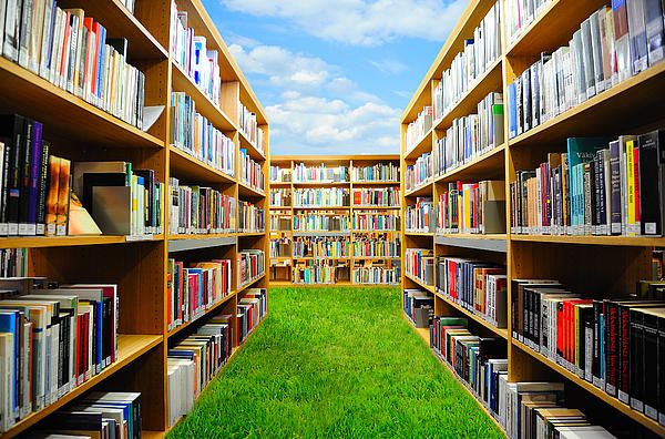 Garden of books: pinterest.com/pin/558094578794720233