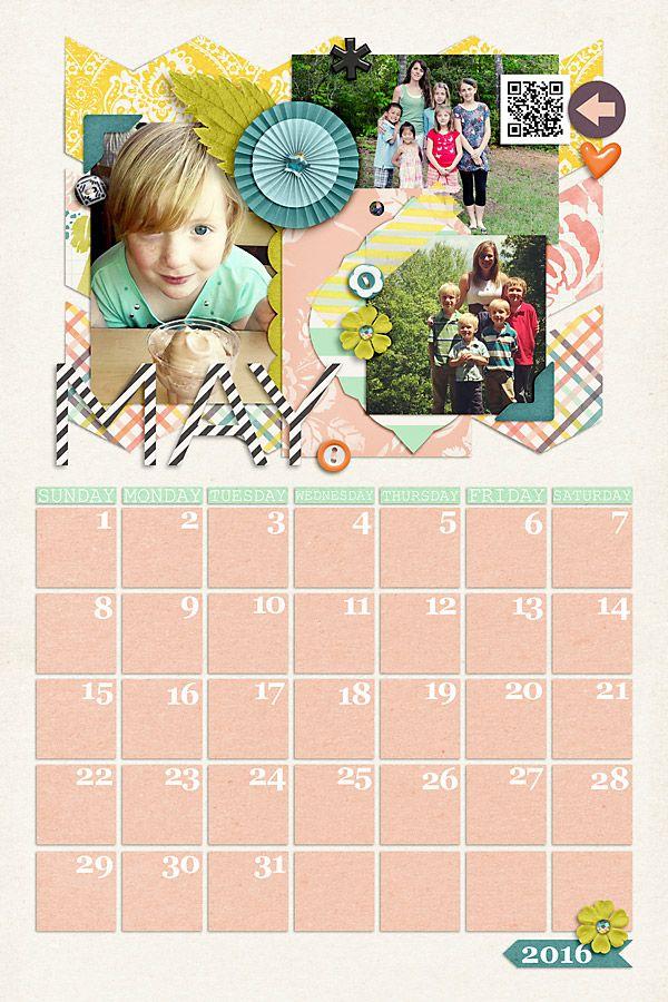 57 Best Calendrio 2016 Images On Pinterest Calendar Organizers