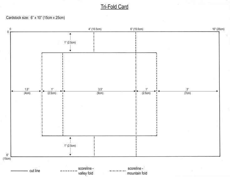 from my craft room tri fold card template regarding fold. Black Bedroom Furniture Sets. Home Design Ideas