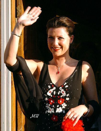 Private party at restaurant Bølgen&Moi, Trondheim on may 22; wedding of Princess Märtha Louise of Norway and mr. Ari Behn, May 24th 2002