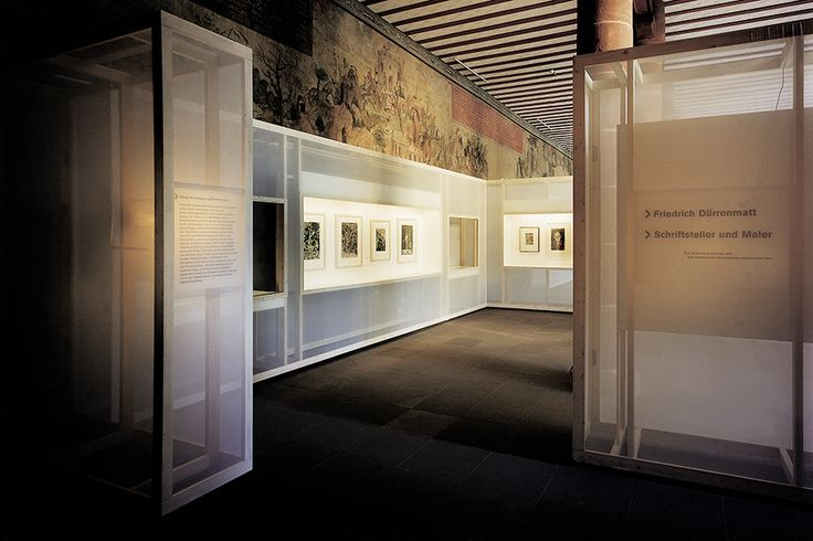 KARMELITER MONASTERY FRANKFURT Swiss Literature Archive Berne Temporary exhibition: Friedrich Dürrenmatt