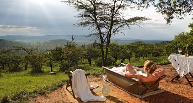 Cottars 1920s offers a bath time reminiscent of Africa's explorer days. http://www.uyaphi.com/showcase/best-baths-in-africa.htm