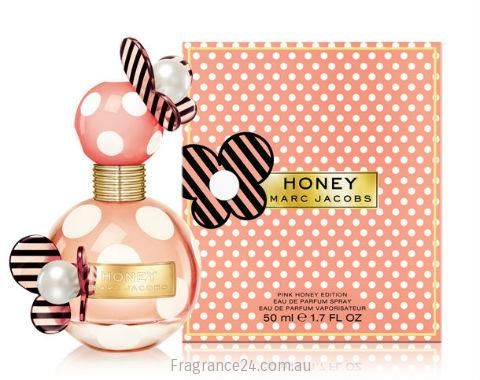 Recognized for its limited edition releases of its most popular perfumes, Marco Jacobs brings to life Pink Honey a limited edition variant of Honey. The original golden glowing Honey scent was unveiled a year ago and follows the successful path of the award winning Dot aroma. Read more: http://www.fragrance24.com.au/woman/marc-jacobs-pink-honey/