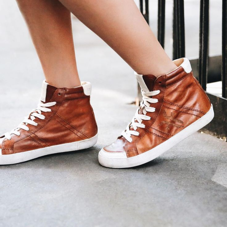 Our newest high-top sneakers for women--the Dylan High | The Frye