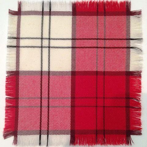 Red Lennox 100% Wool Tartan Fabric – Highland In Style