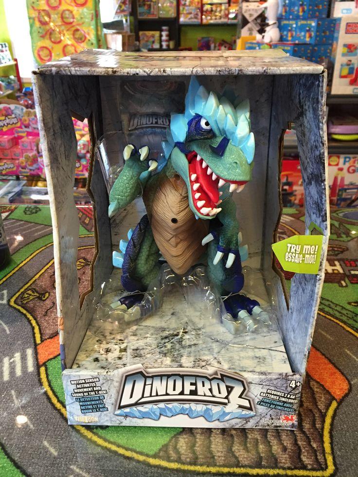 DinoFroz Nouveautés, T-Rex 22 cm Dinosaures. 44.99$. Disponible dans la boutique St-Sauveur (Détaillant des Laurentides) Boîte à Surprises, ou en ligne sur www.laboiteasurprises.ca ... sur notre catalogue de jouets en ligne, Livraison possible dans tout le Québec($) 450-240-0007 info@laboiteasurprisesdenicolas.ca