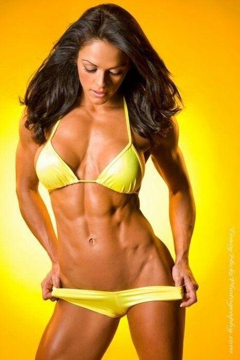 top female fitness models