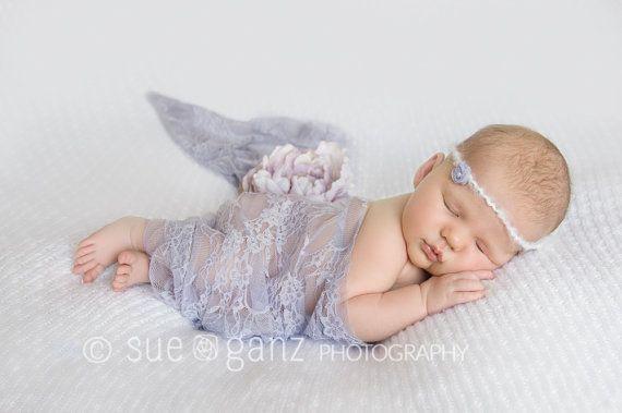 Neugeborenen Stirnband und Wrap Neugeborene von BabyGraceHats