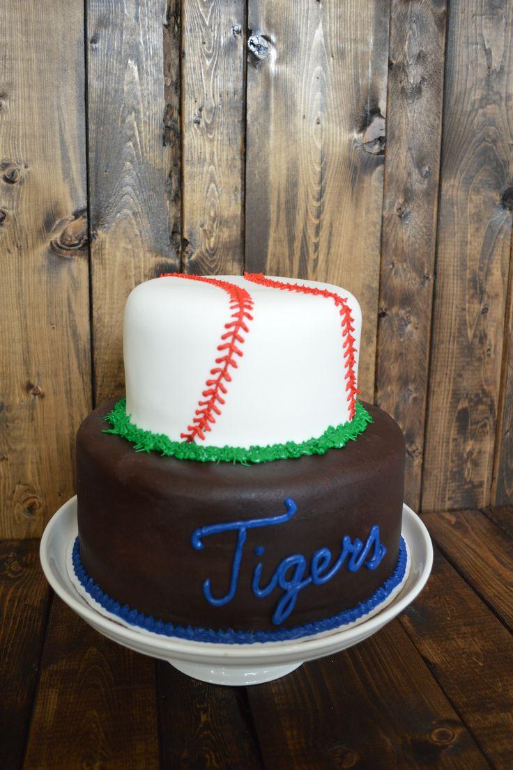 35 besten Detroit Tigers Cakes Bilder auf Pinterest   Detroit tigers ...
