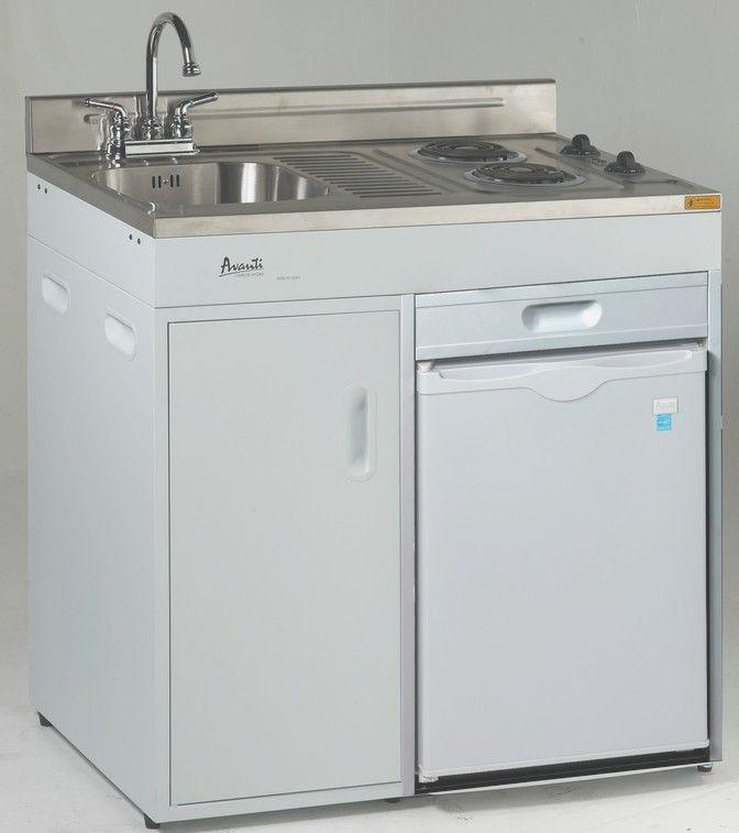 Avanti 36 Inch Compact Kitchens – CK3616 – KitchenBath.com
