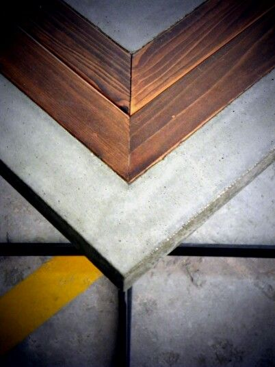 #concrete #with #wood #greece #handmade #beton #бетон #τσιμεντο
