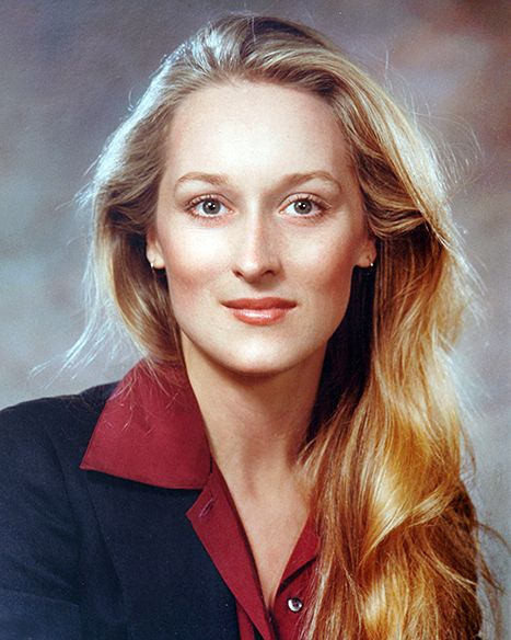 Meryl Streep circa 1979, looking much like her daughters.