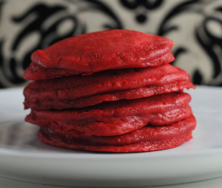 More like this: red velvet pancakes , red velvet and maple syrup .