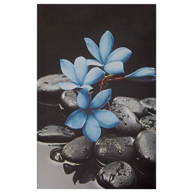 Tableau - fleurs sarcelles/TABLEAUX/DÉCOR MURAL Bouclair.com