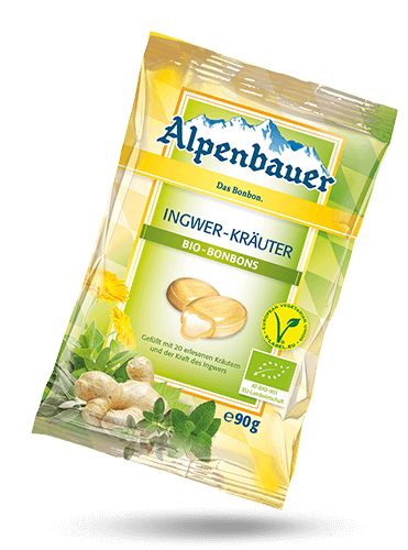"Mild sharpness and the unmistakable aroma of 20 exquisite herbs - with the delicious ""Alpenbauer Organic Candy - Ginger Herbs"" taste and well-being are close together. The ginger plant known to us since the 9th century contains many..."