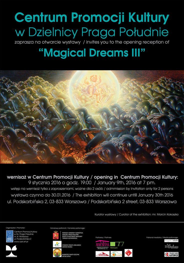Magical Dreams III - wystawa - realizm magiczny w Centrum Promocji Kultury