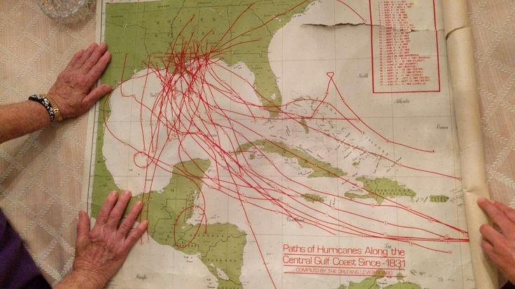 Gulf Hurricane Map From 70's http://ift.tt/2iQPnSK