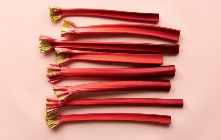 These game-changing rhubarb recipes go way beyond baked desserts.