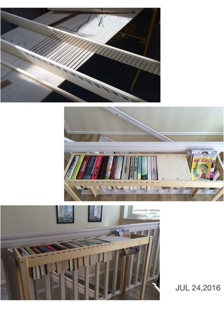 Til opbevaring af bøger og magasiner