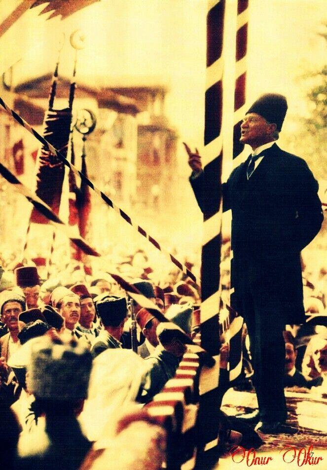 ATATÜRK'ÜN TÜRK GENÇLİĞİNE HİTABESİ NUTUK (Söylev) - Ankara, 20 Ekim 1927 Mustafa Kemal Atatürk tarafından 20 Ekim 1927 tarihinde Nutuk'un sonunda Türk Gençliği'ne yönelik yaptığı konuşmadır (Seslenişi). Nutuk, Atatürk'ün Kurtuluş Savaşı'nı anlattığı 15 - 20 Ekim 1927 tarihlerinde Cumhuriyet Halk Partisi 2. Kongresinde otuz altı buçuk saat süren tarihi konuşmasıdır.