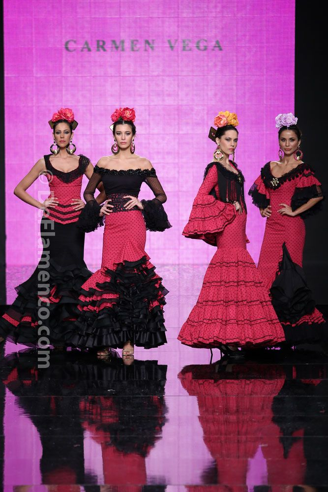 Fotografías Moda Flamenca - Simof 2014 - Carmen Vega 'Flamencas de aqui y alla' Simof 2014 - Foto 18