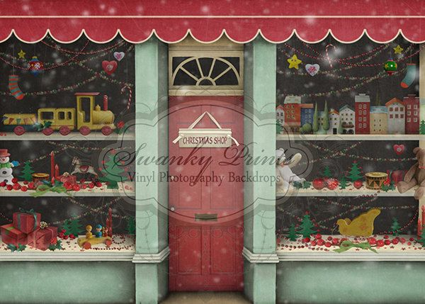 And props stage backdrops christmas